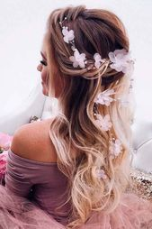 24 chic hairstyles for prom, so you're amazing – # Abschlussball #damit # Amazing # Hairstyles #schicke