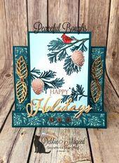 Eigenschaften Ruhige Äste, Frohe Weihnachten an alle, Weihnachts-Countdown-Stempelsets …   – Pals Blog Hop Creations