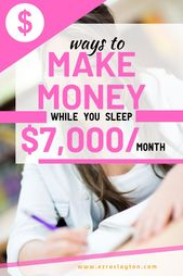 How To Make Extra Money From Home & Create Passive…
