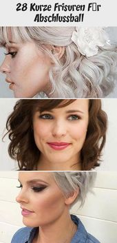 28 Short Hairstyles For Prom
