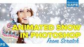 Intermediate Photoshop Tutorial, wie man realistischen animierten Schneefall in …