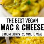 Easy Vegan Mac And Cheese Recipe Stovetop Or Baked Nora Cooks Vegan Mac And Cheese Easy Vegan Mac And Cheese Recipe Vegan Mac N Cheese Recipe