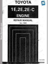 Toyota 1e 2e Repair Manual Repair Manuals Engine Repair Repair