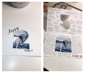 Gift idea: cutout card –  #Card #cutout #Gift #idea