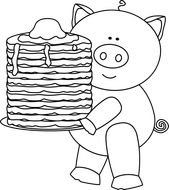 If You Give A Pig A Pancake Cause And Effect Flipbook Cause