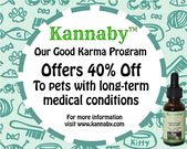 Are you intrigued by the benefits of CBD oil for you pet? #Kannabycbd is an orga…