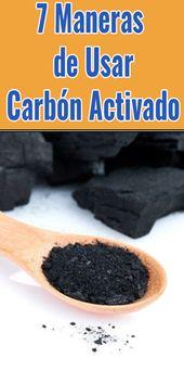 7 Maneras de Usar Carbón Activado – Plantas que curan