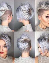 Top Short Haircuts für runde Gesichter Deikhoo.com – #deikhoo #gesichter #haircuts #runde