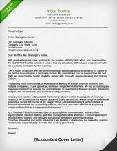 Accounting Cover Letter Sample Cover Letter Sample Cover Letter