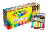 Crayola 64Count Sidewalk Chalk Set with 5Count Color Core, Amazon for Kids  – Toys