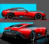 """Car Design Sketch on Instagram: """"Christophe Honoré @krys_hnr , designer at To…"""