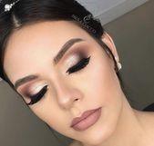 Faszinierender Make-up-Look zum Nachmachen   – Maquiagem