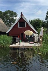 Boathouse near Mirow am Müritz National Park – 8 hp motorboat (optional
