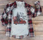 Christmas Truck Shirt/ Women's Christmas Shirt/ Christmas Shirt for Women/ Holiday Shirt/ Christmas