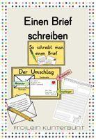 Brief/Postkarte schreiben – Unterrichtsmaterial im Fach Deutsch – #BriefPostka…
