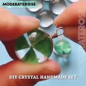 DIY Crystal Glue Jewelry Mold 229 Pcs Set ⭐⭐⭐⭐⭐