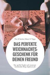 Geschenk für Freund: Mit diesen Geschenken machst du ihm eine Freude!