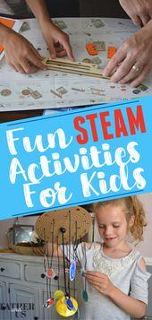 Fun STEAM Activities For Kids