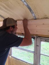 Tongue And Groove Planks For Ceiling Buy A School Bus School Bus Camper Bus Camper