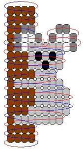 Koala pony beads pattern