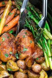 Instant Pot Balsamic Chicken Recipe | Easy Instant Pot Dinner Idea