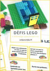 Défis Lego à imprimer : 30 idées à réaliser seul ou à plusieurs