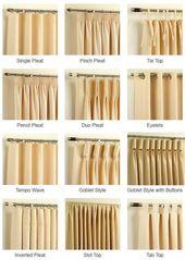 Design Guide: Curtains 101 – #Curtains #design #Gu…
