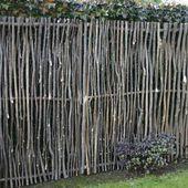 Sichtschutz Haselnußholz