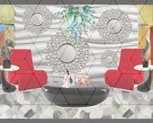Astounding Cool Ideas: Wall Mirror Design Illusion…