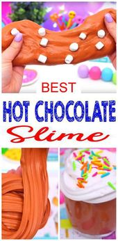 DIY Fluffy Slime Recipe! How To Make Homemade Hot Chocolate Marshmallow – Whipped Cream Slime Without Borax – Slime Ideas For Kids – Parties – Crafts {Easy Slime Recipe With Video}