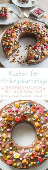 Kinder lieben diese Geburtstagstorte! Und weil das Rezept so einfach ist, können Sie …   – Kuchen/Torten/Creme