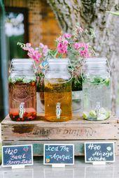 DIY Gartenhochzeit