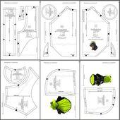 PDF Patrones de ropa para perros Patrón de abrigo para perro DIY Ropa de perro Abrigo DIY para perro Ropa de perro pequeño Patrón para abrigo impermeable de perro pequeño   – DIY Pet Dog clothes Pattern