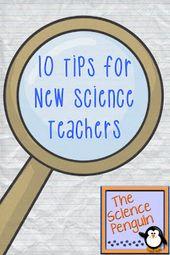 Advice for New Science Teachers {10 Tips