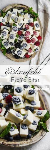 Ice cream confectionery | FroYo Bites with berries