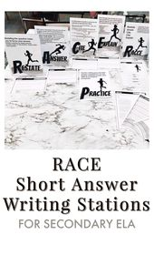 RACE Quick Reply Writing Stations