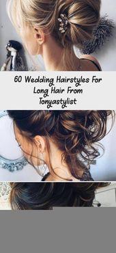 60 Hochzeitsfrisuren für langes Haar von Tonyastylist