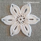 This Easy Crochet Flower For Beginners Is So Cute! [Free Pattern] – Knit And Crochet Daily