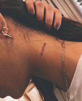 Tätowieren; Paar Tätowierung; Kreative Tätowierung; Romantisches Tattoo; Sinn… #diytattooimages – diy tattoo ideas