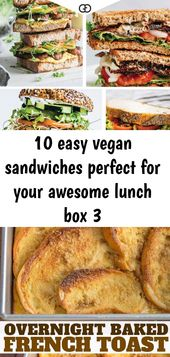 10 easy vegan sandwiches perfect for your awesome lunch box 3