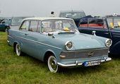 Opel Rekord P 2 auf dem Flugplatz Wershofen – –   – my old classic car collection