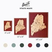 South Dakota State Map | Home Decor, Gift, House Warming, Wedding, Wood Art, Cha…