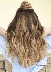 22 schöne Haarideen für langes Haar