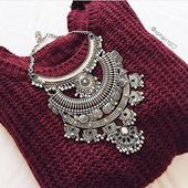 Gypsy Statement Necklace – Happiness Boutique – Statement Jewelry & Vintage-inspired Clothing