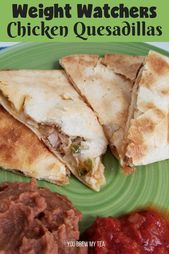This Weight Watchers Rooster Quesadilla Recipe is a superb selection for a kid-frien…