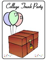 college trunk party cake Google Search Nyrees College Trunk