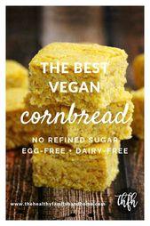 The BEST Homemade Vegan Cornbread