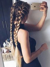 How to make beautiful one sided braid hair style step by step DIY tutorial picture instructions, How to, how to make, step by step, picture tutorials,…