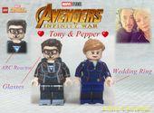 MOC LEGO Avengers 3: Infinity War – Tony und Pepper   – LEGO MINIFIGURES