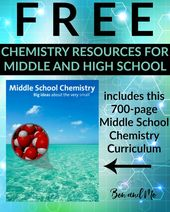 FREE Chemistry Assets for Center and Excessive College